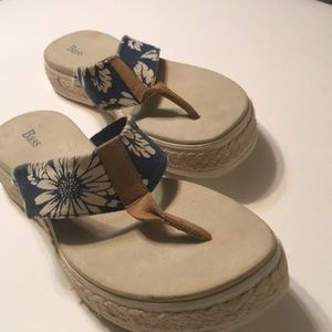 Bass Size 11 Women's Sandals They run small!